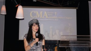 Cheryl Wicker at CMA Dallas