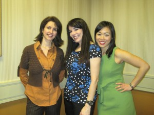 CWIMA panelists Cassie Byrum, Cheryl Ariaz Wicker and Jeannette Eng