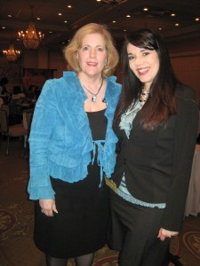 Suellen Roberts, CWIMA founder and Cheryl Ariaz Wicker