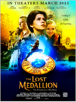The Lost Medallion: The Adventures of Billy Stone starring Alex Kendrick and Mark Dacascos