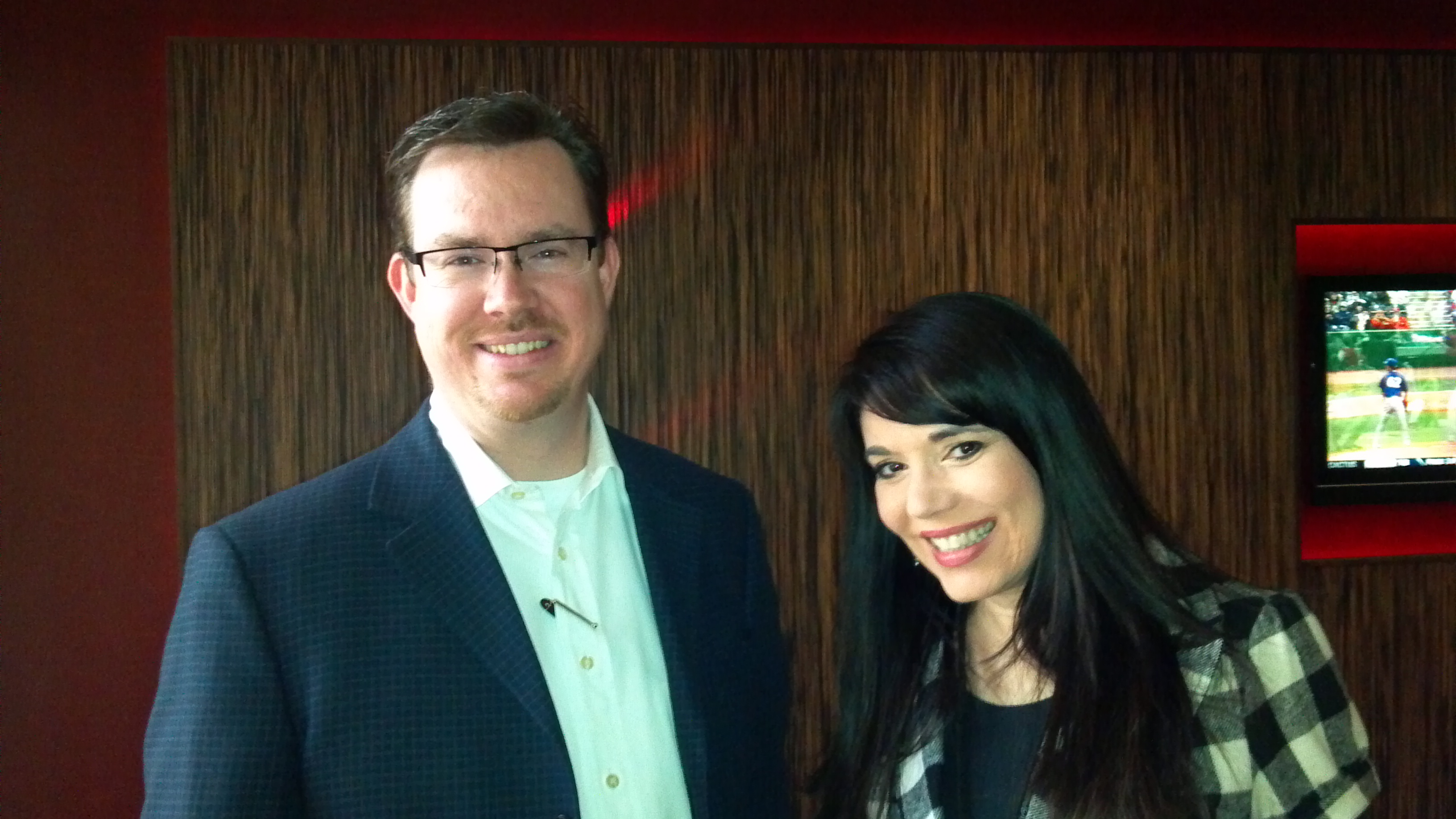 Jared Geesey and Cheryl Ariaz Wicker