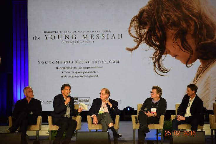 """The Young Messiah"" film panel discussion Photo Credit: Kenneth Sutton"