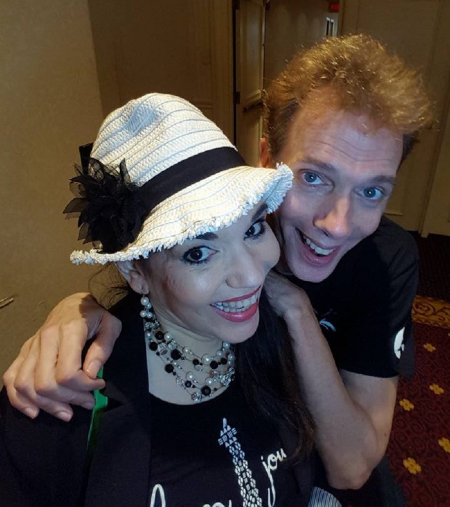 Doug Jones and Cheryl Wicker